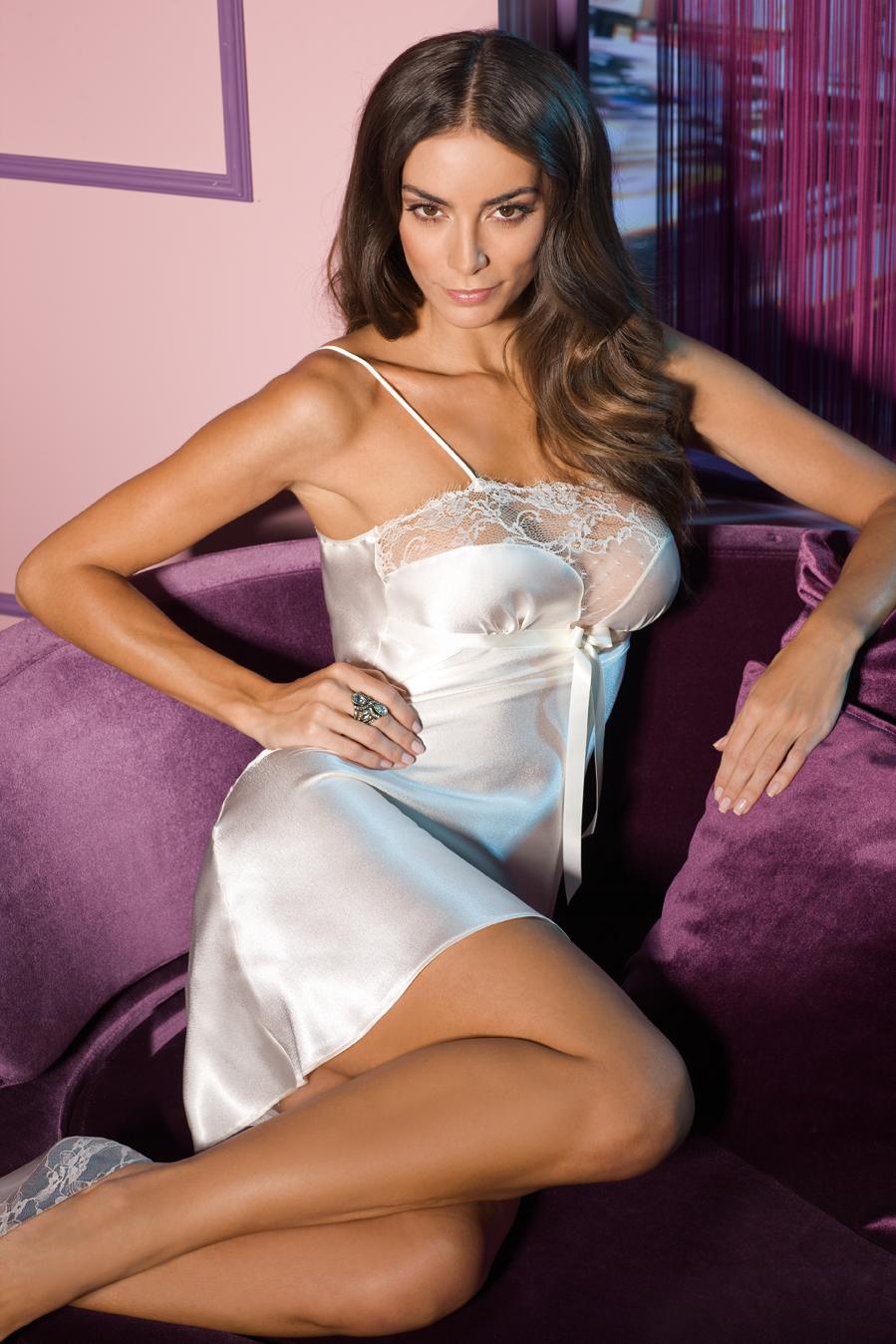 Buy jcss sexy sling sleepwear, women's satin lingerie chemise nightgown loungewear soft nightie dress black