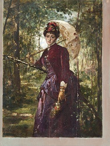 Французский художник Ernest Ange Duez (1843 – 1896, French)