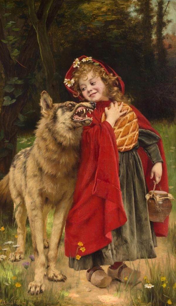 Французский художник Gabriel Ferrier (1847-1914)