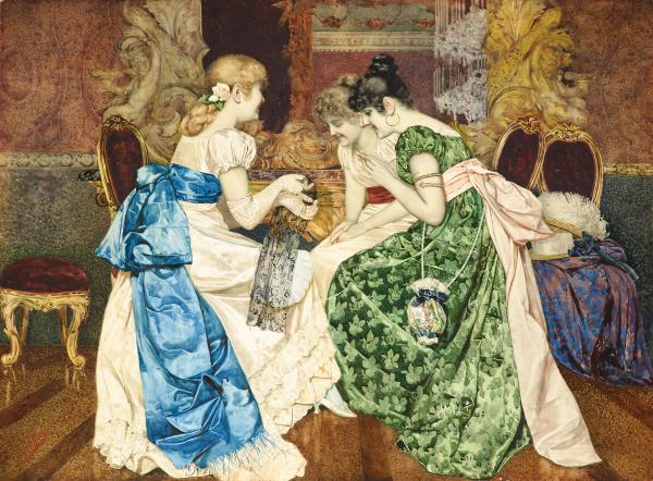 Художник Giovanni Battista Filosa (1850-1935)