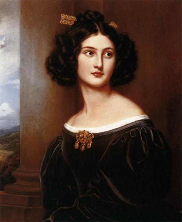 Немецкий художник-портретист Joseph Karl Stieler (1781-1858)