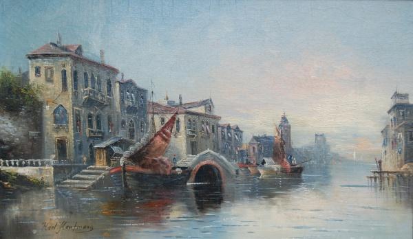 Художник Karl Kaufmann (1843-1905)