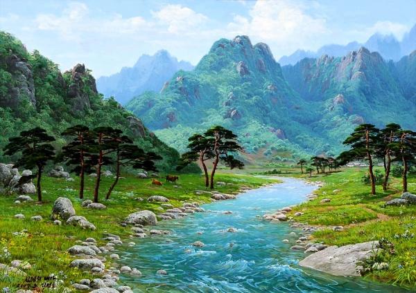 Работы корейского художника Sung Lee (54 фото)