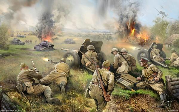 Военные рисунки (208 фото)