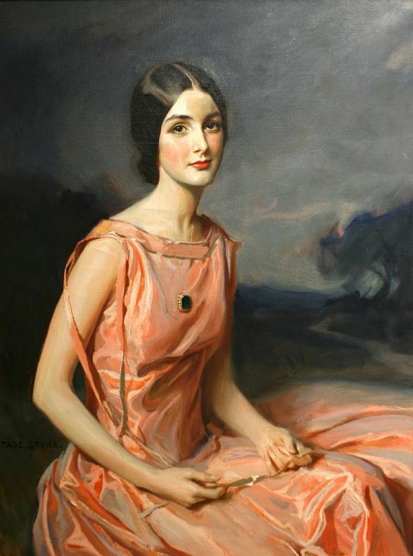 Польский художник Tadeusz Styka (1889-1954)