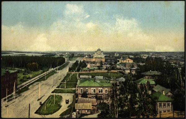Дореволюционный Томск на фотографиях и открытках / Old Tomsk on photo and postcard (35 фото)