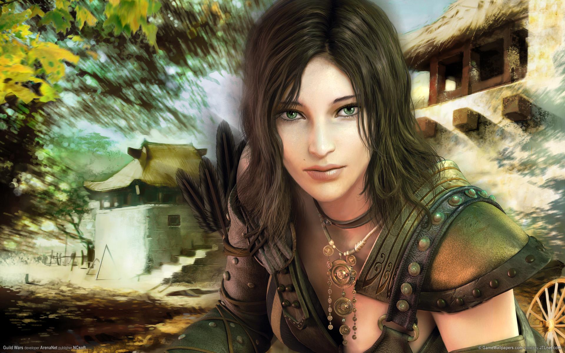 Рисованные девушки из компьютерных игр 7 фотография