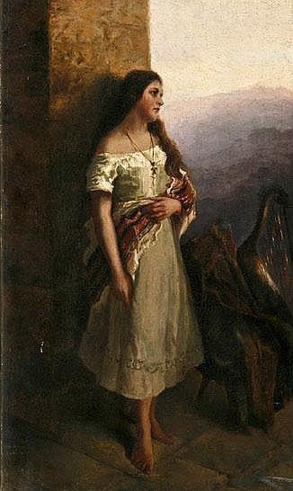 Художник Benjamin Vautier (Swiss, 1829-1898)
