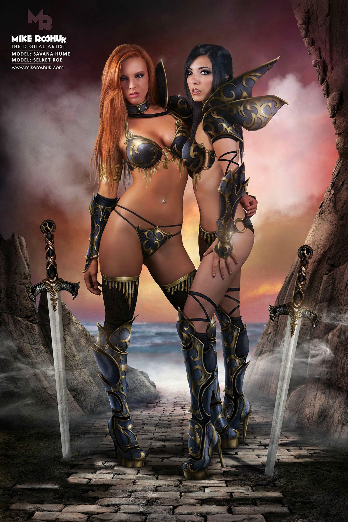 Warrior women nude foto blog adult gallery