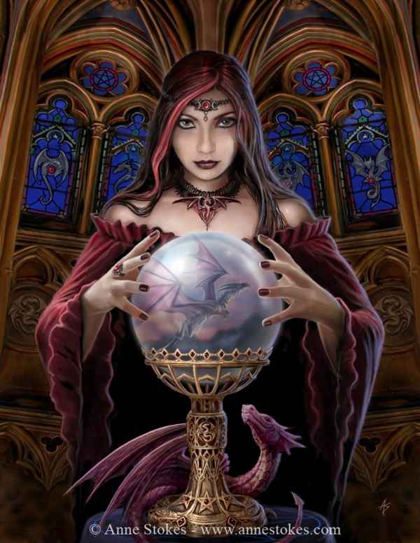 Anne Stokes artwork (199 фото)