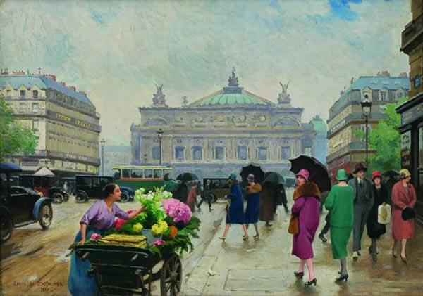Французский художник Louis Marie de Schryver (French, 1862-1942) (31 фото)