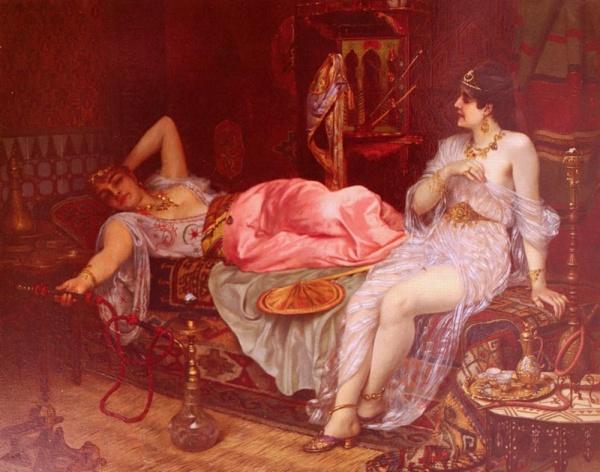 Австрийский художник Moritz Stifter (Austrian, 1857-1905)