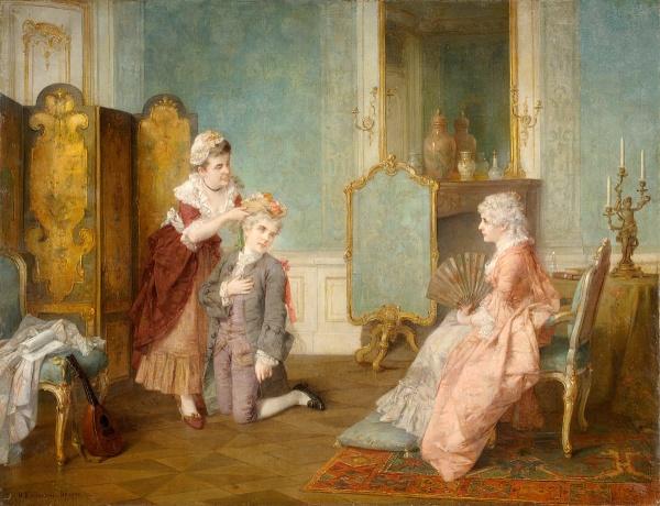 Немецкий художник Otto Erdmann (1834-1905) (23 фото)