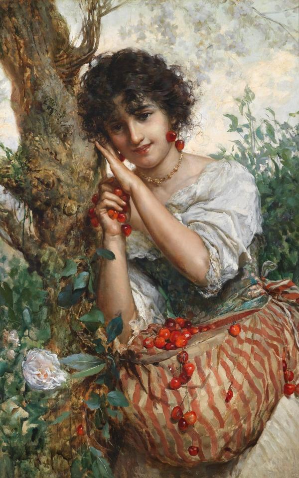 Итальянский художник Salvatore Postiglione (1861-1906) (22 фото)
