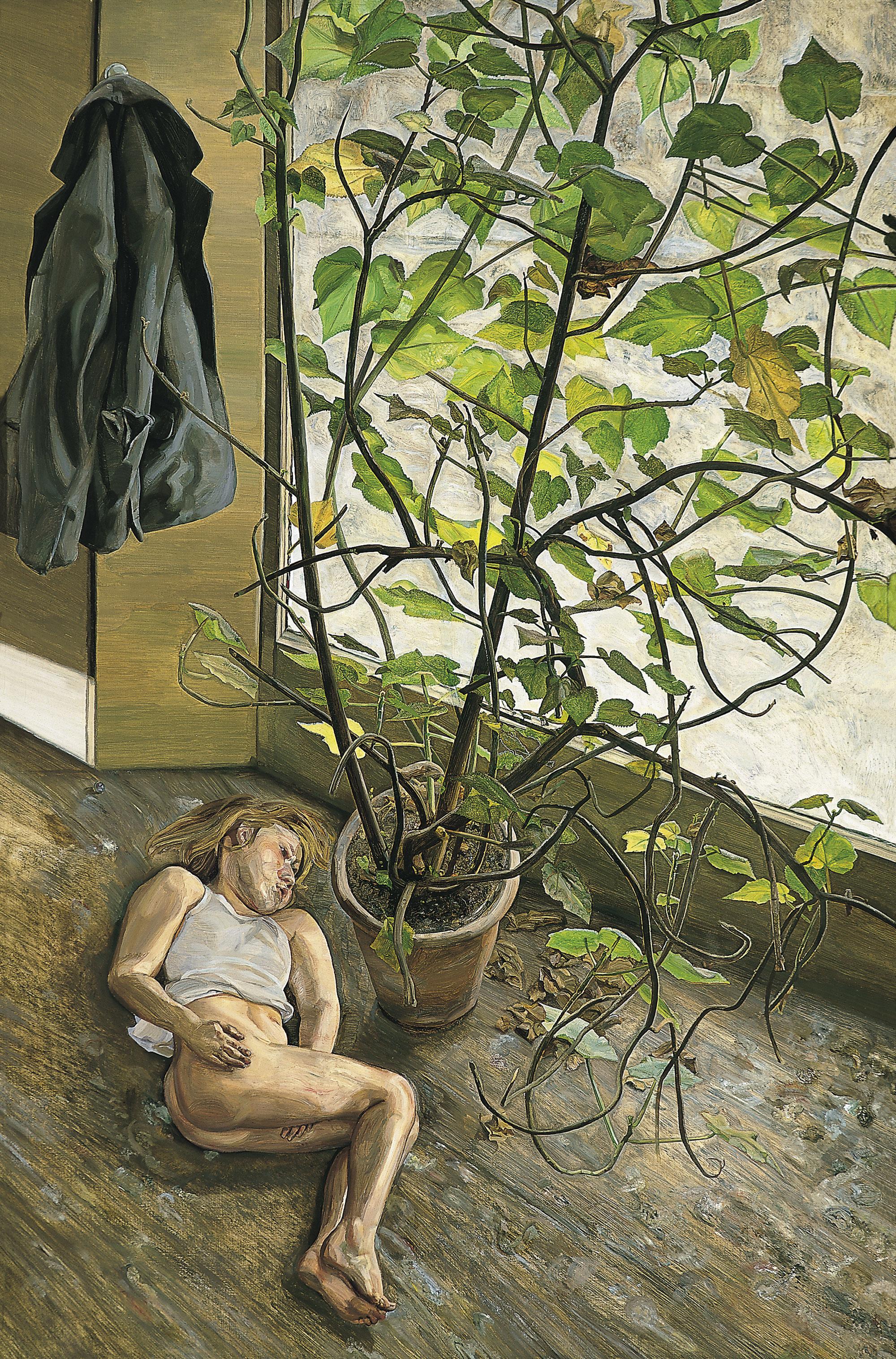 Фото картины спящая домработница фрейд 19 фотография