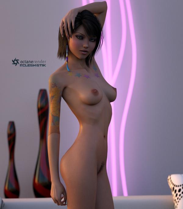 Красивые девушки в 3D формате (330 фото)