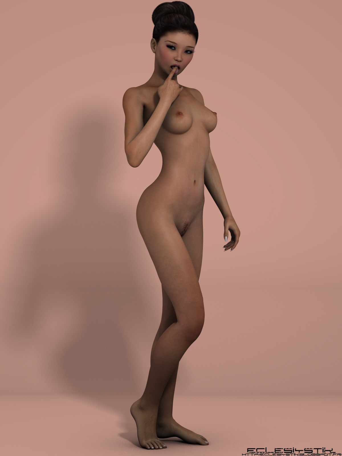 Картинки по запросу голые 3D девушки