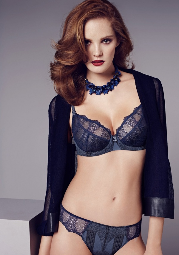 Alexina Graham - Wacoal Lingerie - Winter 2014 (49 фото)