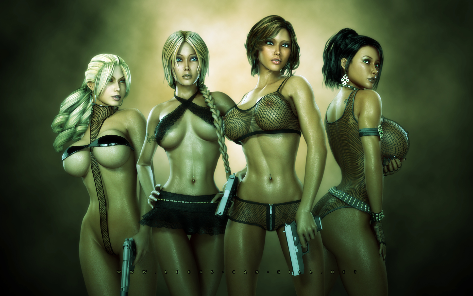 Nude warriors girls 3d wallpaper sex picture