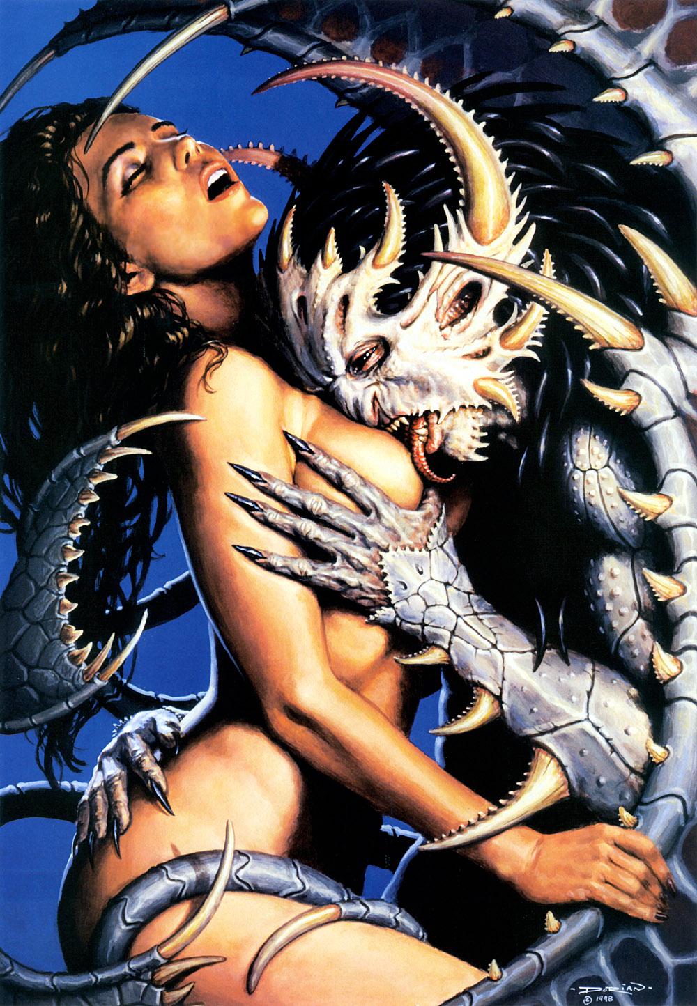 Секс с дьяволом в картинках 11 фотография