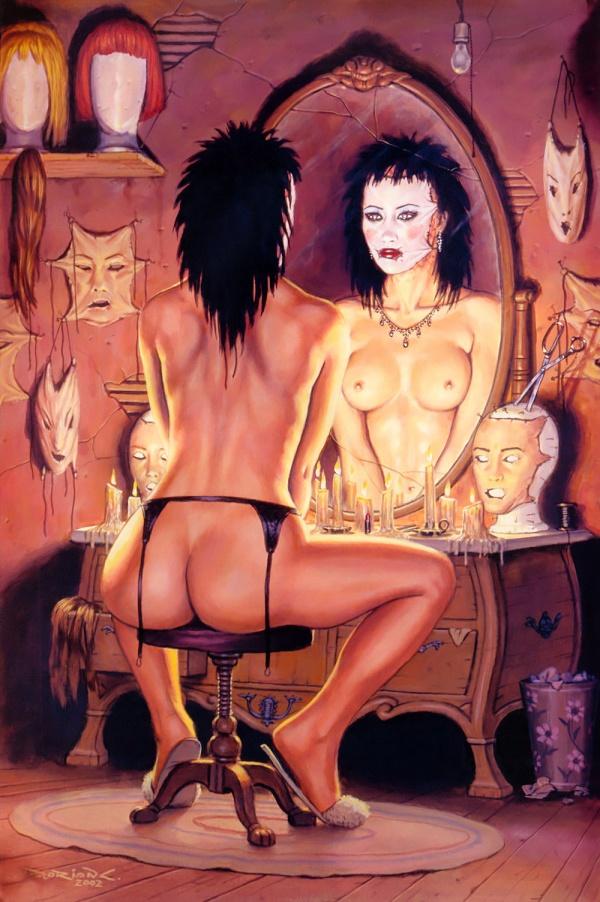 Сборник работ художника Dorian Cleavenger (416 фото)