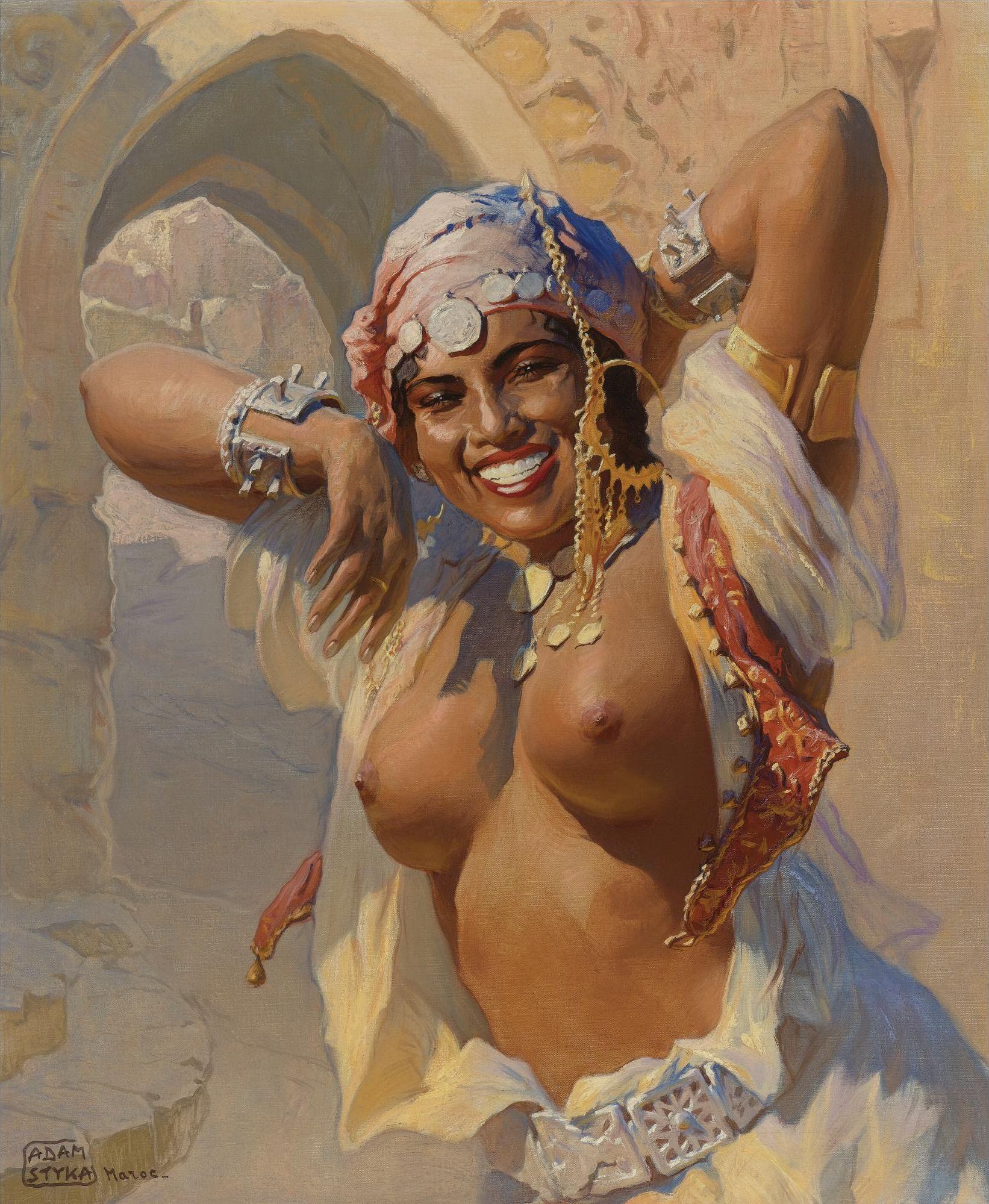 Танцы голых красавиц недавно