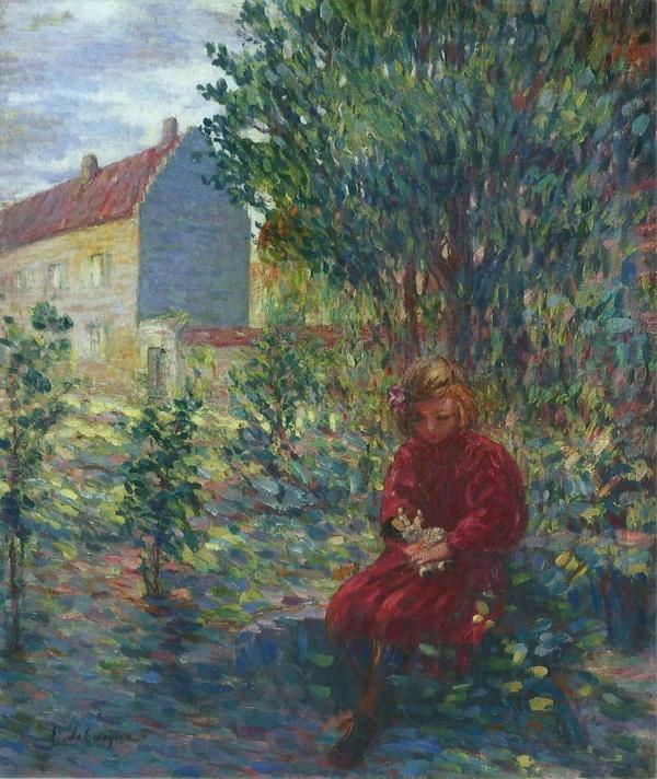Мир художника Анри Лебаск (Henri Lebasque) (591 фото)