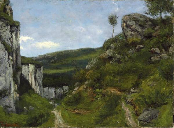 Работы художника Gustave Courbet (Гюстав Курбе) vol1 (44 фото)