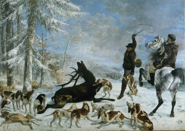 Работы художника Gustave Courbet (Гюстав Курбе) vol3 (45 фото)