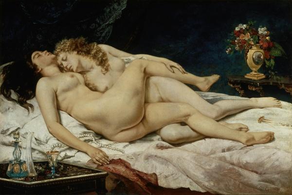 Работы художника Gustave Courbet (Гюстав Курбе) vol5 (24 фото)