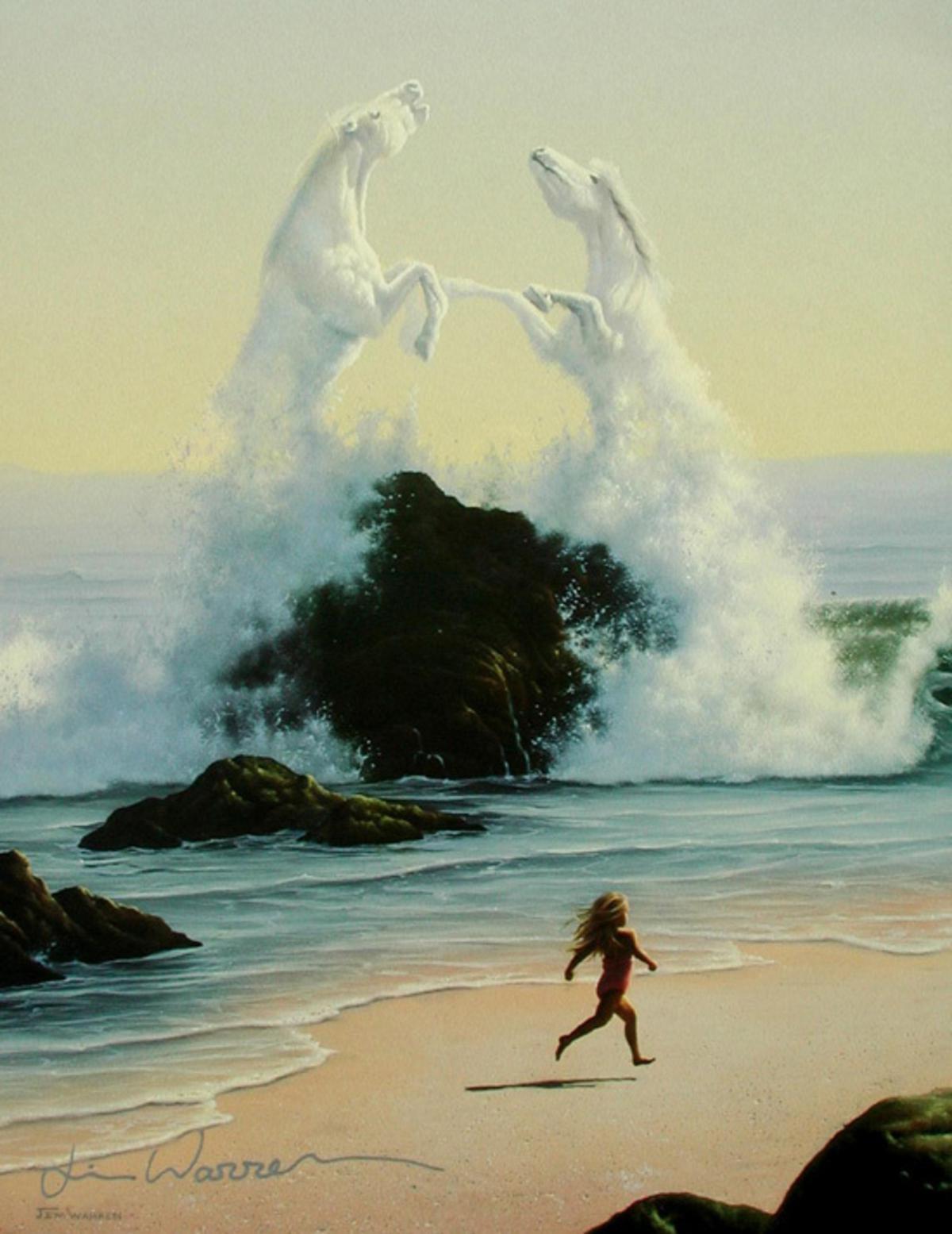 искусства фото море джим уоррен происходит потому