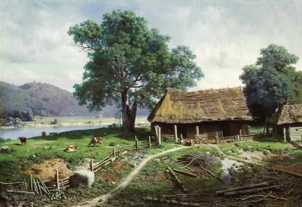 Работы художника Клодт фон Юргенсбург (66 фото)