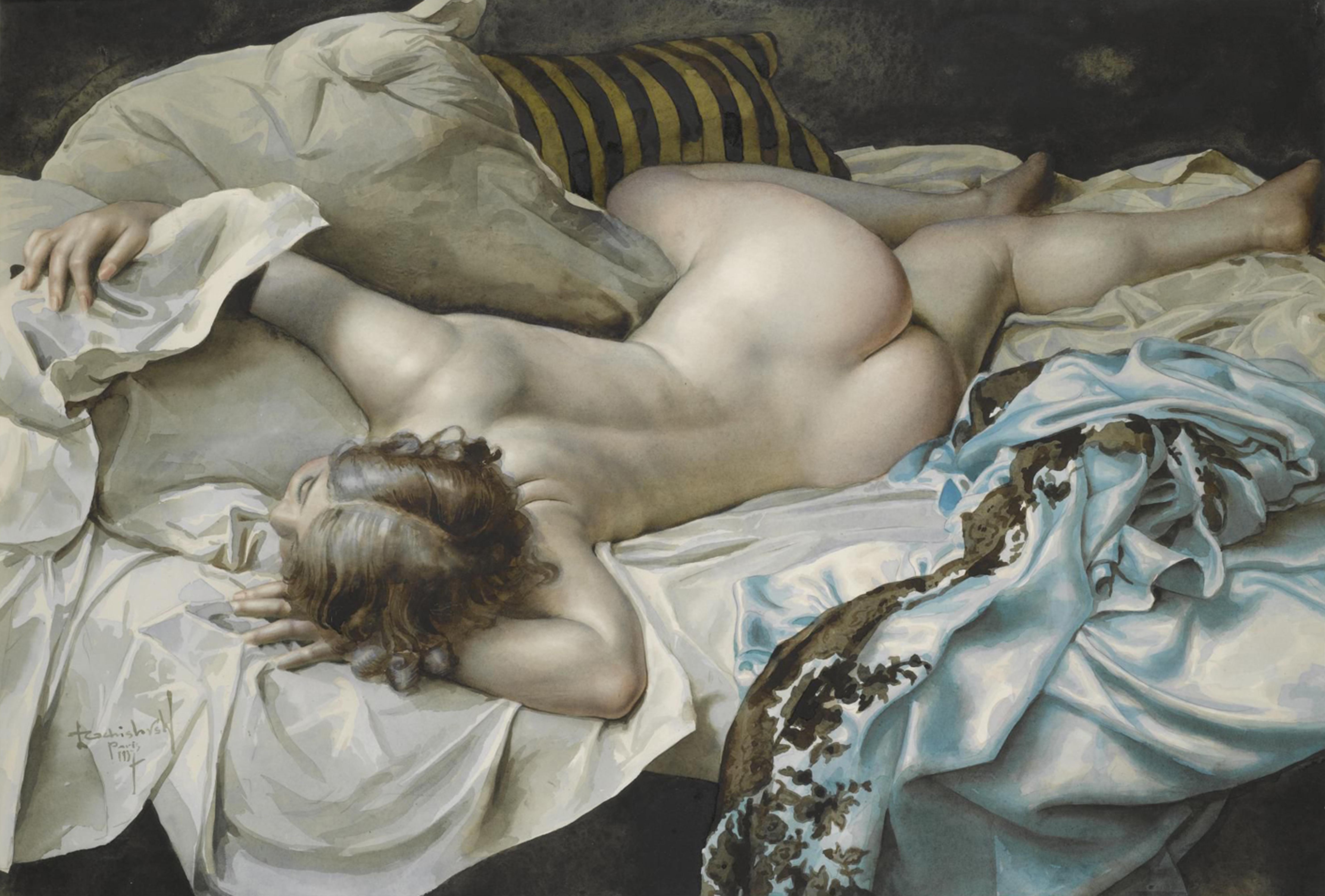 Смотреть секс художника с натурщицей 20 фотография
