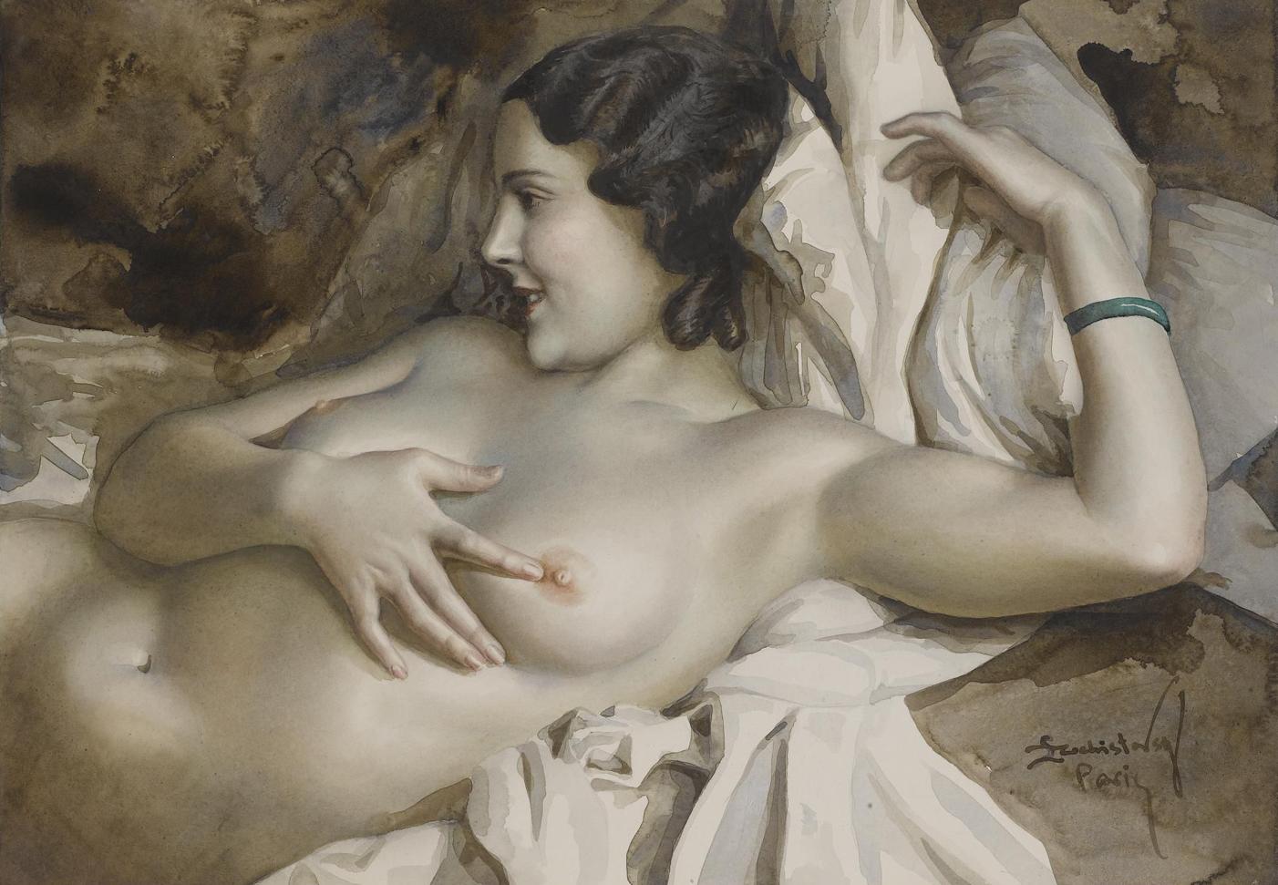 Художница рисует голого мужика, Дочь художница рисует с натуры папин член, сосёт его 10 фотография