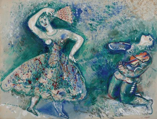 Работы художника Марк Шагал (MARC CHAGALL)