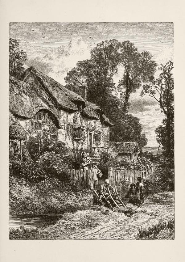 Изображение сельских пейзажей 1896 (32 фото)