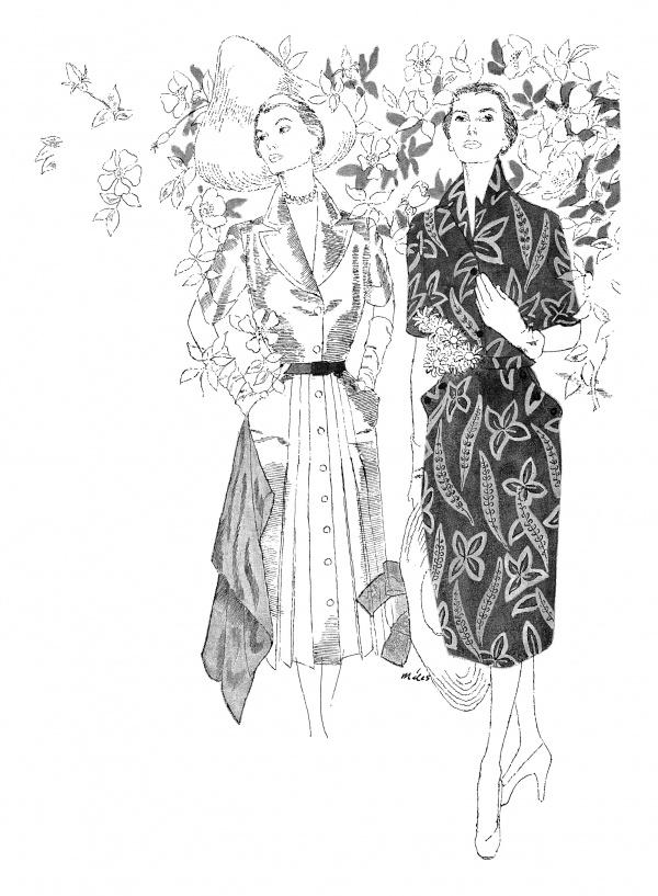 Retro Magazine illustrations (162 фото)