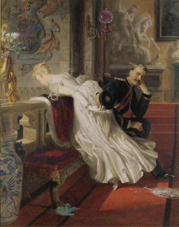 Сборник картин - Романтика и светская жизнь 1 (152 фото)