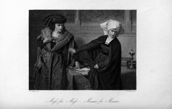 Шекспировские сцены и персонажи 1876 (37 фото)