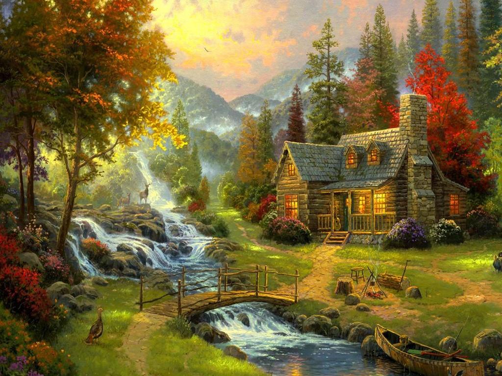 картинки красивых картин художников моя сердце