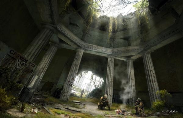 Арт Постаппокалипсис - Фантастические фоны (23 фото)