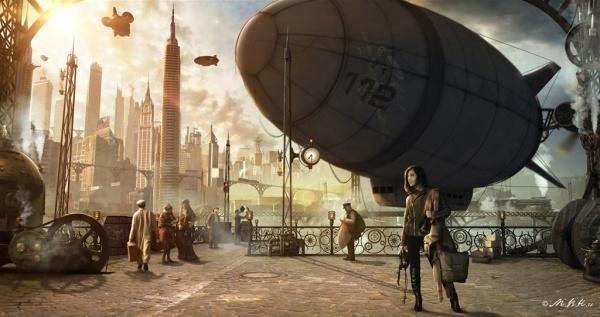 Арт Мир Будущего - Фантастические фоны (22 фото)
