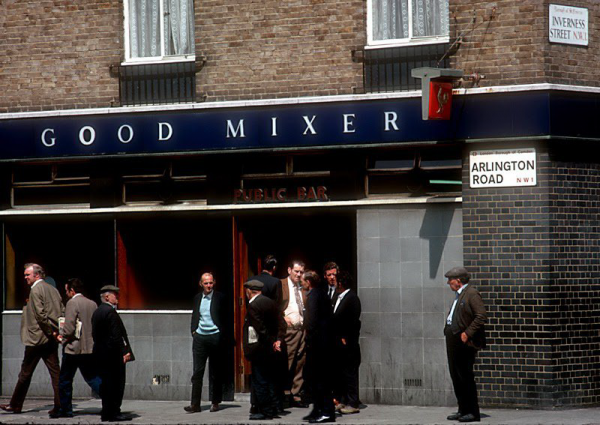 Лондон 70-е годы XX века (25 фото)