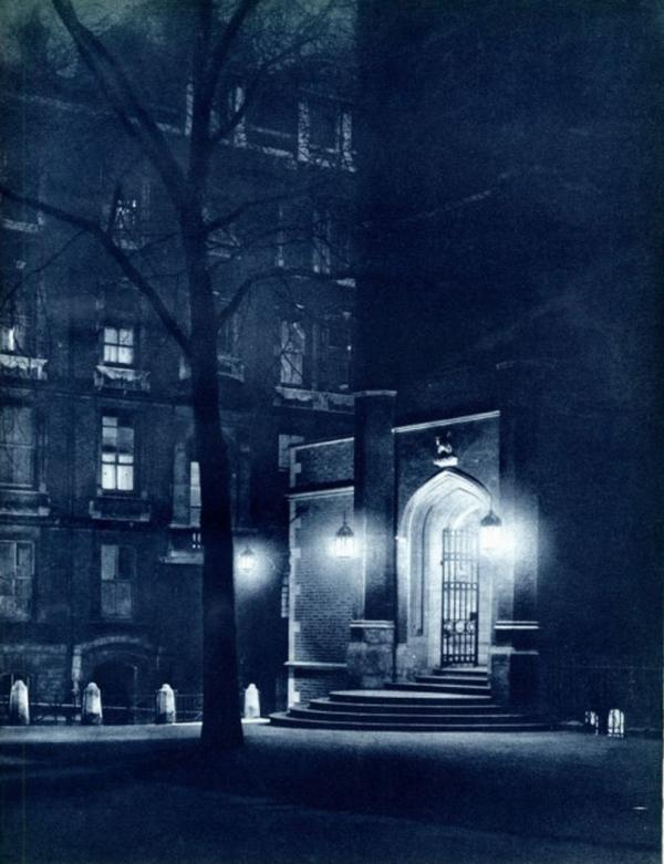 Лондон ночной 30-е годы XX века (15 фото)