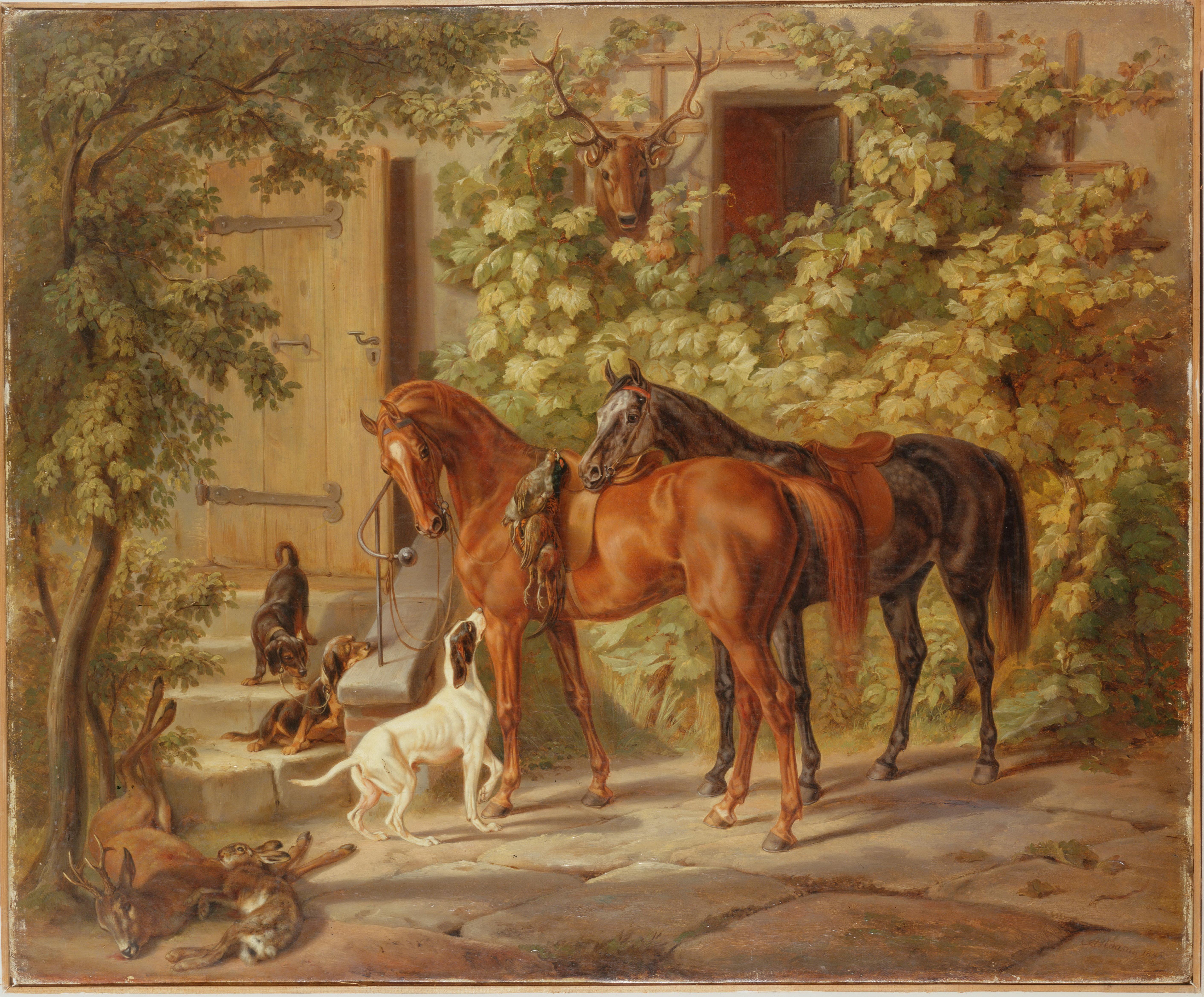 Животные рисунки великих художников 4