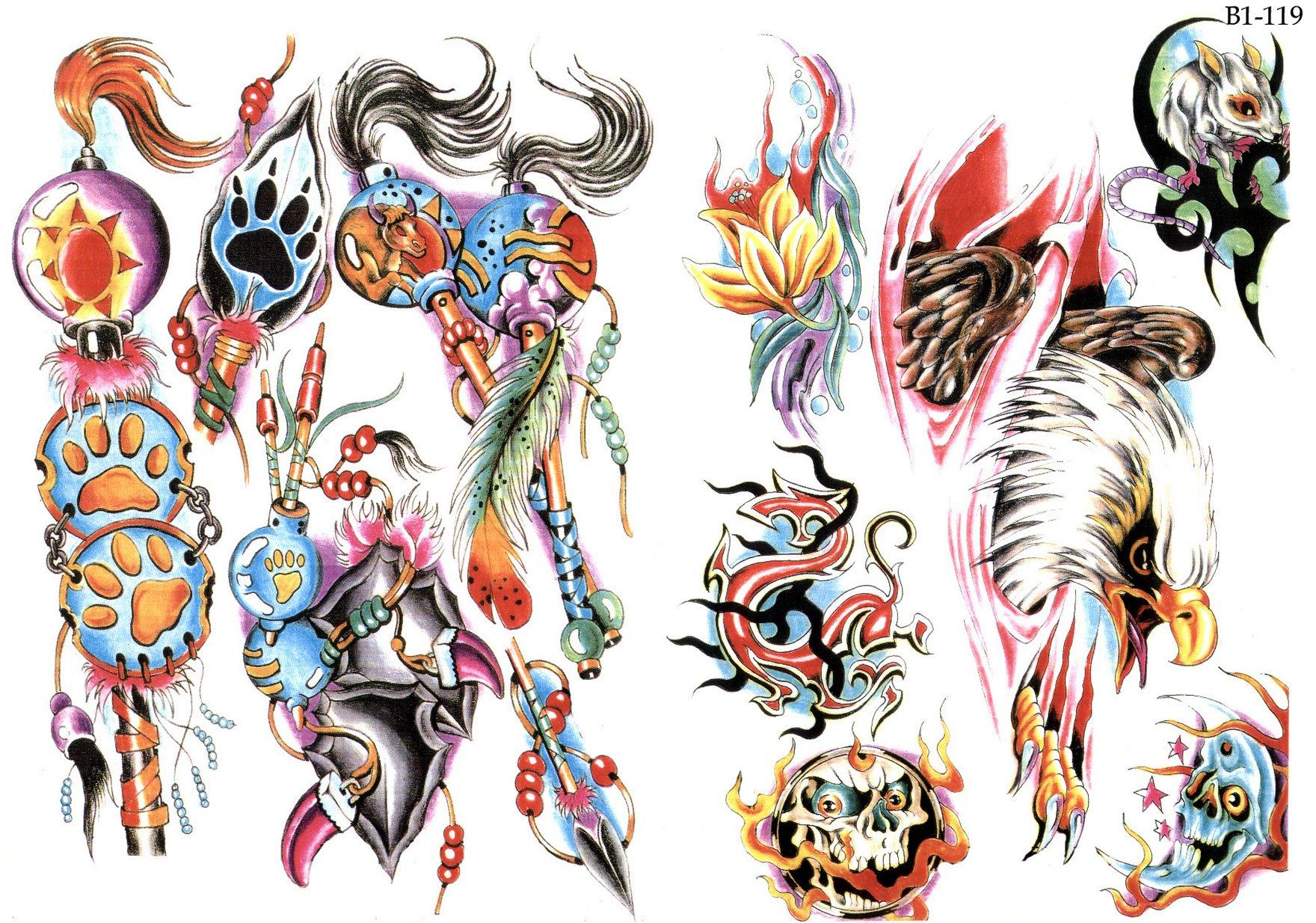 Фото татуировки и их эскизы