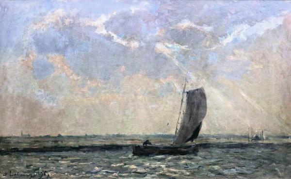 Albert-Charles Lebourg (200 фото)