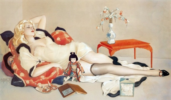 The Art of Pin-up by Alberto Vargas (191 фото)
