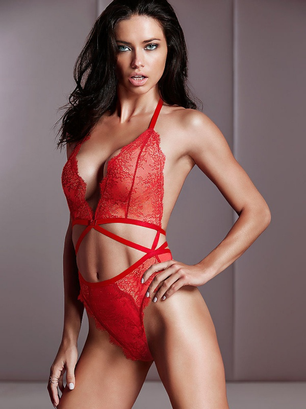 Adriana Lima - Victoria's Secret Photoshoot 2014 Set 5 (49 фото)