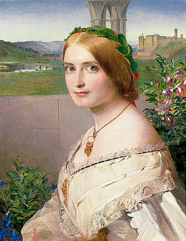 Английский художник Anthony Frederick Augustus Sandys (1832–1904)
